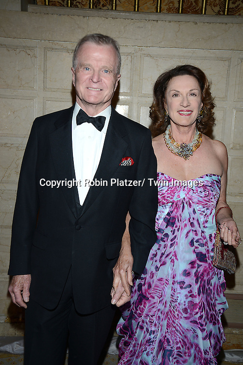 Robert Quinlan and Encarnitta Quinlan attends the New York Landmarks Consevancy's 20th Annual Living Landmarks Celebration on November 14, 2013 at the Plaza Hotel in New York City.