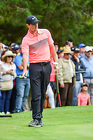 Rory McIlroy (IRL) tries to help his birdie putt during round 3 of the World Golf Championships, Mexico, Club De Golf Chapultepec, Mexico City, Mexico. 3/4/2017.<br /> Picture: Golffile | Ken Murray<br /> <br /> <br /> All photo usage must carry mandatory copyright credit (&copy; Golffile | Ken Murray)
