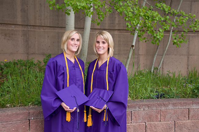 high school graduation day, Estes Park, Colorado, 5/22/2008