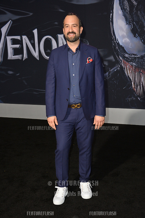 LOS ANGELES, CA. October 01, 2018: Steve Zissis at the world premiere for &quot;Venom&quot; at the Regency Village Theatre.<br /> Picture: Paul Smith/Featureflash