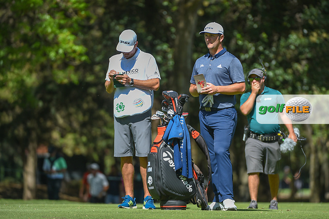 Jon Rahm (ESP) looks over his approach shot on 6 during round 1 of the World Golf Championships, Mexico, Club De Golf Chapultepec, Mexico City, Mexico. 2/21/2019.<br /> Picture: Golffile   Ken Murray<br /> <br /> <br /> All photo usage must carry mandatory copyright credit (© Golffile   Ken Murray)