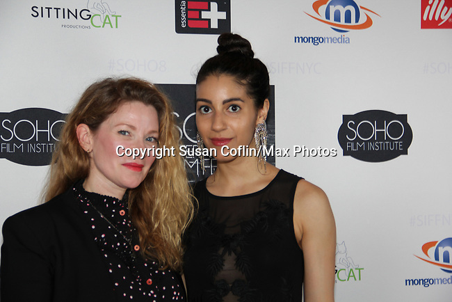 -  Seeing is Believing: Women Direct at its East Coast Premiere at Soho International Film Festival on June 19, 2017 in New York City, New York.(Photos by Sue Coflin/Max Photos) Cady McClain, Carlotta Summera