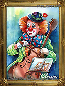 Alfredo, CHILDREN, KINDER, NIÑOS, paintings+++++,BRTOXX05715CP,#k#, EVERYDAY ,clowns