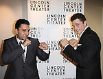 Dion Mucciacito & Karl Glusman attending the Broadway Opening Night After Party for The Lincoln Center Theater Production of 'Golden Boy' at the Millennium Broadway in New York City on December 6, 2012