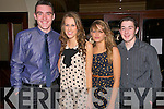 Abbeyfeale United FC Annual Social : Attending the annual  Abbeyfeale United FC social at The Devon Inn Hotel on Saturday night last were Jack Madden, Michelle & Chloe Quirke & Sean Casey.