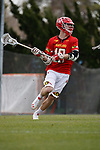 2017 March 25: Jared Bernhardt #10 of Maryland Terrapins during a 15-7 win over the North Carolina Tar Heels at Fetzer Field in Chapel Hill, NC.