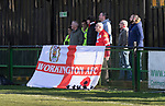 Rushall Olympic 1 Workingon 0, 17/02/2018. Dales Lane, Northern Premier League Premier Division. Workingon fans. Photo by Paul Thompson.