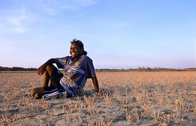 Katherine Yunkaporta, Apalech Clan group, Aurukun, Cape York Peninsula.