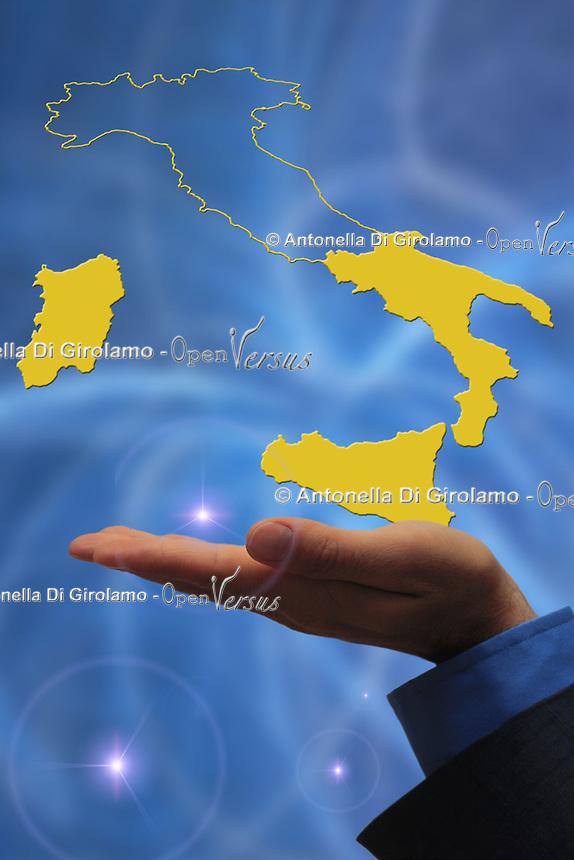 Mezzogiorno d'Italia. Southern Italy.......