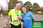 Colm Lynch 205, and 1388 who took part in the Kerry's Eye Tralee International Marathon on Sunday 16th March 2014