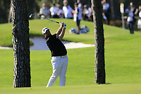 Shane Lowry (IRL) plays his 2nd shot on the 16th hole during Friday's Round 2 of the 2018 Turkish Airlines Open hosted by Regnum Carya Golf &amp; Spa Resort, Antalya, Turkey. 2nd November 2018.<br /> Picture: Eoin Clarke | Golffile<br /> <br /> <br /> All photos usage must carry mandatory copyright credit (&copy; Golffile | Eoin Clarke)