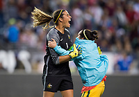 Seattle, WA - July 27, 2017: The USWNT lost to Australia 1-0 during the first match of the Tournament of Nations at CenturyLink Field.Seattle, WA - July 26, 2017: The USWNT trains prior to the first match of the Tournament of Nations at CenturyLink Field.