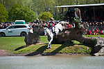 Badminton, Gloucestershire, United Kingdom, 4th May 2019, Emma Hyslop-Webb riding Waldo III during the Cross Country Phase of the 2019 Mitsubishi Motors Badminton Horse Trials, Credit:Jonathan Clarke/JPC Images
