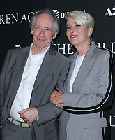 NEW YORK, NY - SEPTEMBER 11:  Ian McEwan, Emma Thompson  at the Premiere of The Children Act   at the Walter Reade Theater in New York City on September 11, 2018. <br /> CAP/MPI/RW<br /> &copy;RW/MPI/Capital Pictures