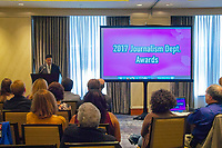Emerson College held the Journalism Awards in the Ritz Carlton Hotel on April 29th, 2017.