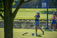 Caroline Masson (DEU) watches her tee shot on 3 during round 1 of the 2018 KPMG Women's PGA Championship, Kemper Lakes Golf Club, at Kildeer, Illinois, USA. 6/28/2018.<br /> Picture: Golffile | Ken Murray<br /> <br /> All photo usage must carry mandatory copyright credit (&copy; Golffile | Ken Murray)