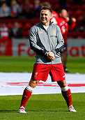 24th March 2018, Anfield, Liverpool, England; LFC Foundation Legends Charity Match 2018, Liverpool Legends versus FC Bayern Legends;  Michael Owen of Liverpool Legends