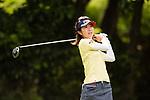 Golfer Emi Komoda of Japan during the 2017 Hong Kong Ladies Open on June 10, 2017 in Hong Kong, China. Photo by Marcio Rodrigo Machado / Power Sport Images