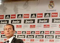 Real Madrid's Football Schooll's Director Emilio Butragueño. June 26, 2013. (ALTERPHOTOS/Acero) .<br /> ©NortePhoto