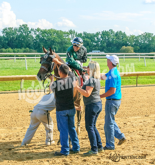 Jack O Liam winning at Delaware Park on 8/12/15
