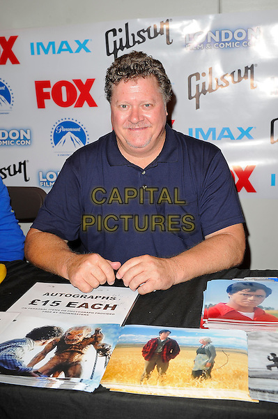 LONDON, ENGLAND - JULY 12: Jeff East attending London Film and Comic Con 2014 at Earls Court on July 12, 2014 in London, England.<br /> CAP/MAR<br /> &copy; Martin Harris/Capital Pictures