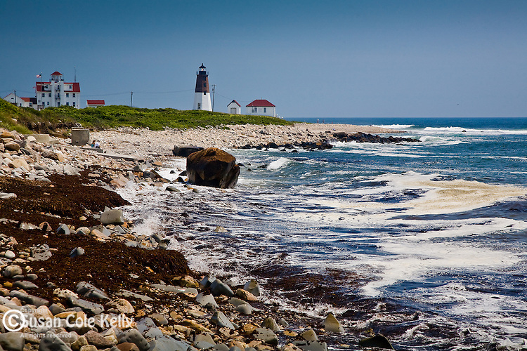 Point Judith Light, Pt Judith, Narragansett RI, USA