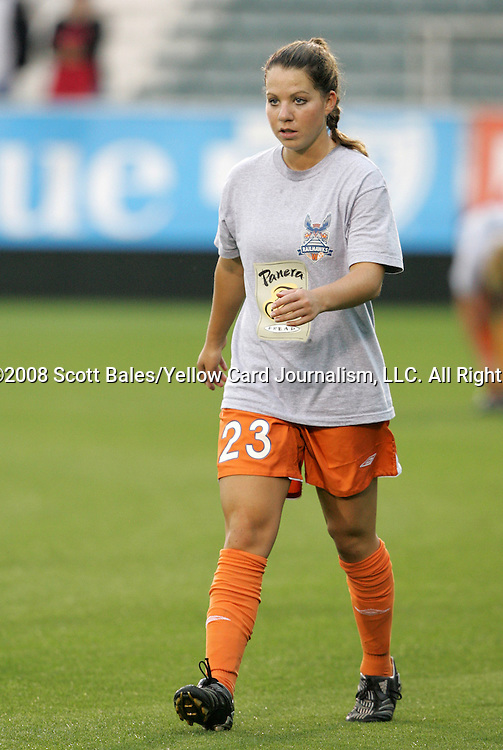 16 May 2008: Carolina's Kelly Attayek. The Atlanta Silverbacks Women defeated the Carolina Railhawks Women 5-0 at WakeMed Stadium in Cary, NC in a 2008 United Soccer League W-League regular season game.