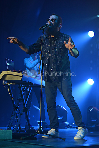 MIAMI BEACH , FL - JUNE 27: Sebu Simonian of Capital Cities performs at the Fontainebleau on June 27, 2015 in Miami Beach, Florida. Credit: mpi04/MediaPunch