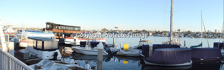 Stock photograph Newport Beach California