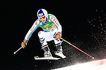 Fritz Dopfer competes during the FIS Alpine Ski World Cup Men's Parallel Giant Slalom in Alta Badia, on December 21, 2015. Norway's Kjetil Jansrud wins the race, Aksel Lund Svindal second and Sweden's Andre Myrher is third.