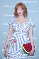 NEW YORK, NY - MAY 14: Christina Hendricks at the 2018 NBCUniversal Upfront at Rockefeller Center in New York City on May 14, 2018.  <br /> CAP/MPI/RW<br /> &copy;RW/MPI/Capital Pictures