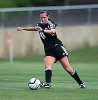 Holly King.  The D.C. United Women defeated the Charlotte Lady Eagles, 3-0, to win the W-League Eastern Conference Championship.