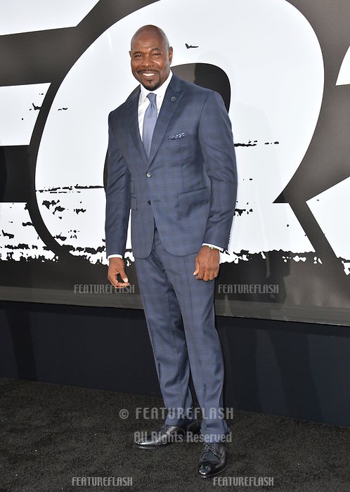Antoine Fuqua at the premiere for &quot;The Equalizer 2&quot; at the TCL Chinese Theatre, Los Angeles, USA 17 July 2018<br /> Picture: Paul Smith/Featureflash/SilverHub 0208 004 5359 sales@silverhubmedia.com