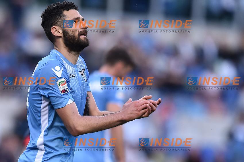 Antonio Candreva Lazio.<br /> Roma 17-04-2016  Stadio Olimpico<br /> Campionato Serie A,<br /> Lazio - Empoli.<br /> Foto Antonietta Baldassarre / Insidefoto