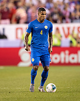 PHILADELPHIA, PA - JUNE 30: Darryl Lachman #4 during a game between Curaçao and USMNT at Lincoln Financial Field on June 30, 2019 in Philadelphia, Pennsylvania.