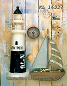 Interlitho-Alberto, STILL LIFE STILLEBEN, NATURALEZA MORTA, paintings+++++,lighthouse, ship,KL16537,#i#, EVERYDAY ,maritime