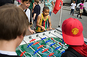 Table-football at Church Street Summer Festival 2009, organised by Church Street Neighbourhood Forum.