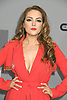 Elizabeth Gillies of Dynasty attends the CW Upfront 2018-2019 at The London Hotel in New York, New York, USA on May 17, 2018.<br /> <br /> photo by Robin Platzer/Twin Images<br />  <br /> phone number 212-935-0770