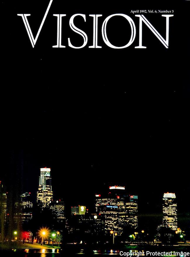 Vision Magazine Cover