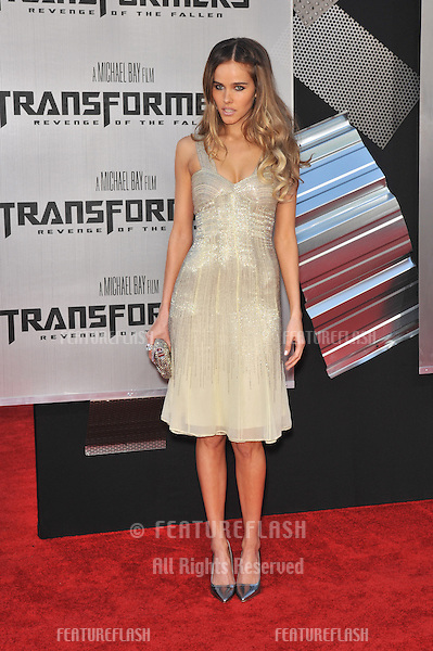 "Isabel Lucas at the Los Angeles premiere of her new movie ""Transformers: Revenge of the Fallen"" at the Mann Village Theatre, Westwood..June 22, 2009  Los Angeles, CA.Picture: Paul Smith / Featureflash"