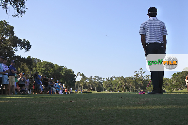 Bubba Watson (USA) during round 1of the Players, TPC Sawgrass, Championship Way, Ponte Vedra Beach, FL 32082, USA. 12/05/2016.<br /> Picture: Golffile | Fran Caffrey<br /> <br /> <br /> All photo usage must carry mandatory copyright credit (&copy; Golffile | Fran Caffrey)