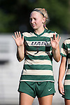 31 August 2014: UAB's Meredith Schertzinger. The Duke University Blue Devils hosted the University of Alabama Birmingham Blazers at Koskinen Stadium in Durham, North Carolina in a 2014 NCAA Division I Women's Soccer match. Duke won the game 3-1.