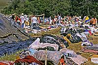 Acampamento dos Sem Terra em Ronda Alta, Rio Grande do Sul.  2001. Foto de Ricardo Azoury.