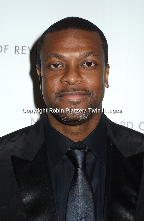 Chris Tucker attends the 2013 National Board of Review Awards Gala on January 8, 2013 at Cipriani 42nd Street in New York City.