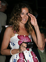 K37714JBB<br /> 136TH BELMONT STAKES AT THE BELMONT RACE TRACK IN ELMONT, NEW YORK<br /> 6/5/2004<br /> PHOTO BY:JOHN BARRETT/GLOBE PHOTOS, INC  ©2004<br /> <br /> SARAH JESSICA PARKER