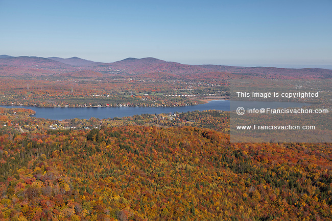 Lac Saint-Charles lake is pictured in Quebec City suburb of Loretteville Wednesday October 1, 2014. Lake Saint-Charles is a major source of Quebec city water supply and an important natural habitat to Quebec City area residents.