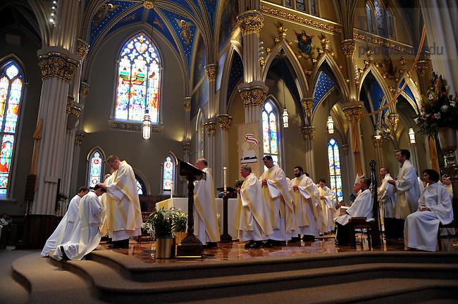 Ordination 2009..Photo by Matt Cashore/University of Notre Dame