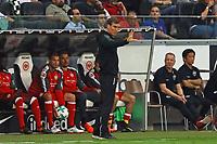 Trainer Hannes Wolf (VfB Stuttgart) - 30.09.2017: Eintracht Frankfurt vs. VfB Stuttgart, Commerzbank Arena