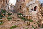 Judea, Hebron Mountain. Palestinian children in Hebron
