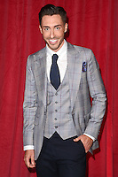 Ross Adams<br /> arrives for the British Soap Awards 2016 at Hackney Empire, London.<br /> <br /> <br /> &copy;Ash Knotek  D3124  28/05/2016